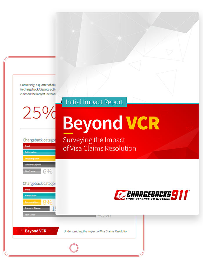 Chargebacks911 eBook - Beyond VCR: An Initial impact Report on Visa Claims Resolution