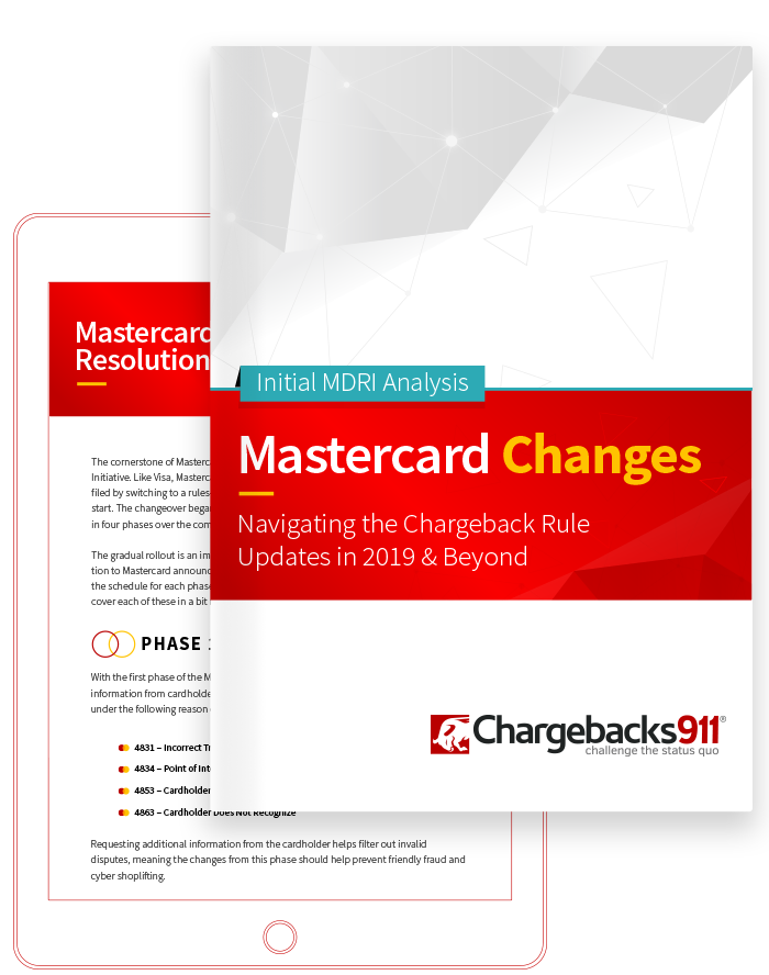 Chargebacks911 eBook - Mastercard Dispute Changes: Free Whitepaper