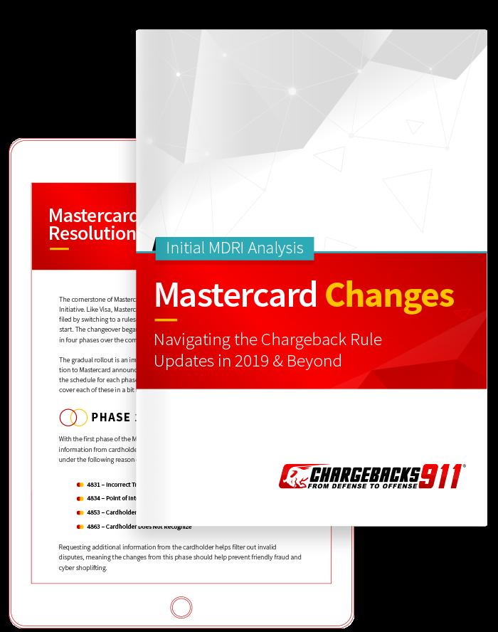 Chargebacks911 eBook - Mastercard Dispute Changes: Free Whitepaper